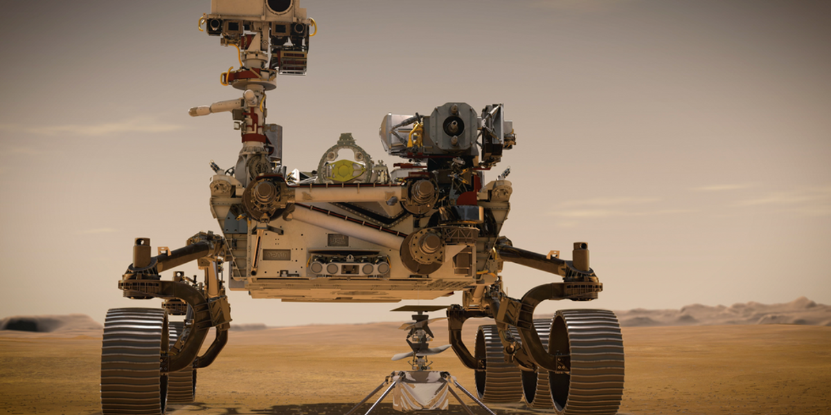 Fontos és gyönyörű helyszínre ért a NASA marsjárója